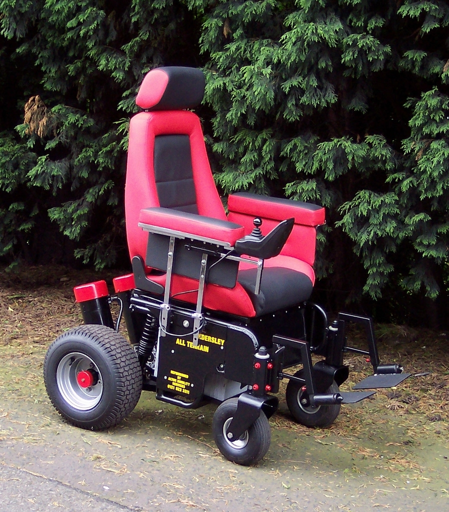 Alton mobility services service repairs for All terrain motorized wheelchairs